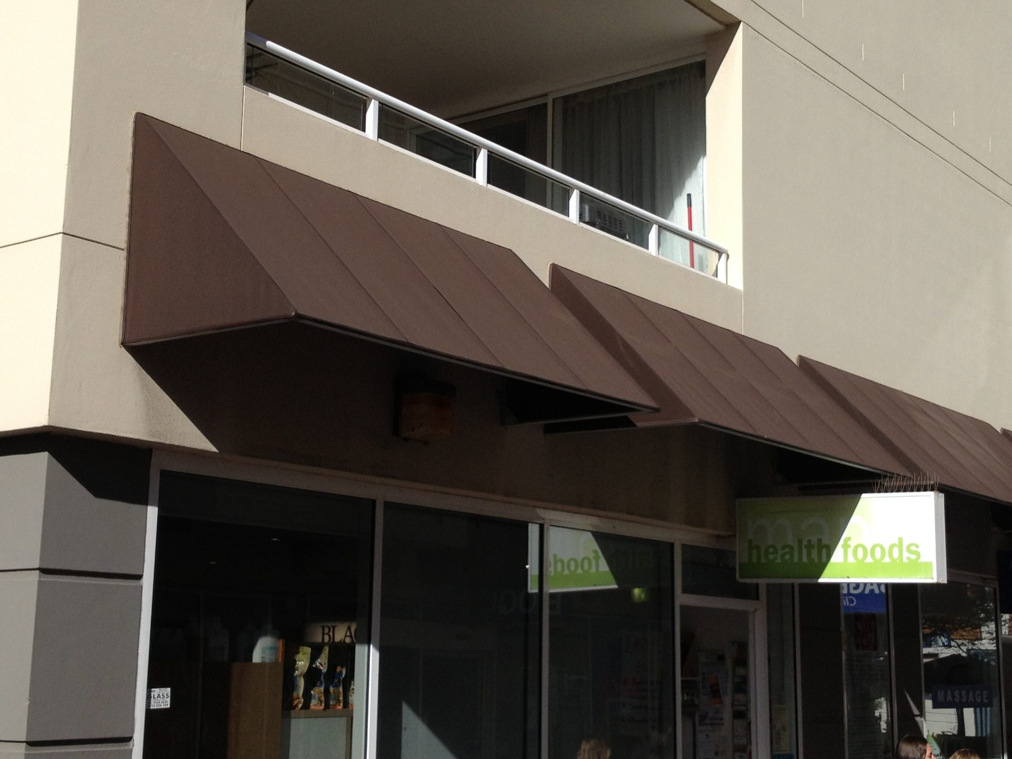 Awnings Fixed No Frame Modern Blinds