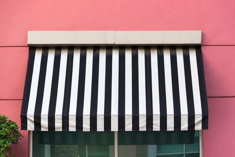 Awnings by modern blinds